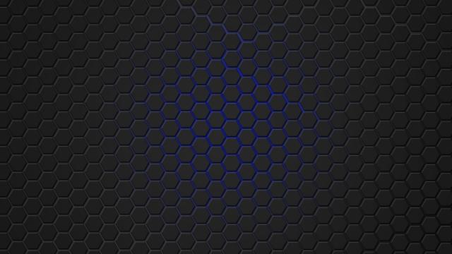 Синяя гексагональная решётка