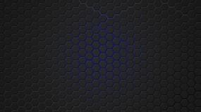 Обои Синяя гексагональная решётка: Решетка, Синий, гексагон, 3D Графика