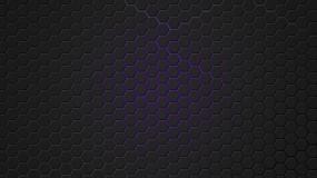 Обои Фиолетовая гексагональная решётка: Решетка, Фиолетовый, гексагон, 3D Графика