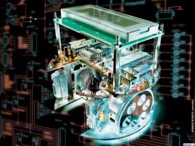 Обои Мотор: Двигатель, Мотор, 3D Графика