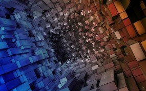 Обои Кубическая абстракция: Абстракция, Кубики, Абстракции