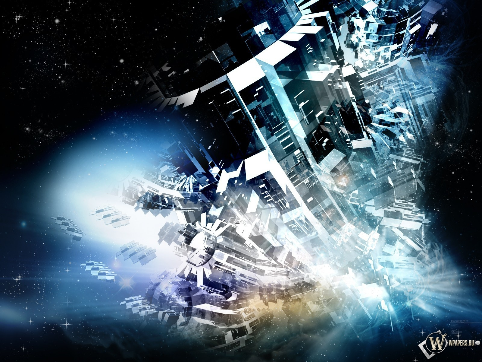 Космическая абстракция 1600x1200