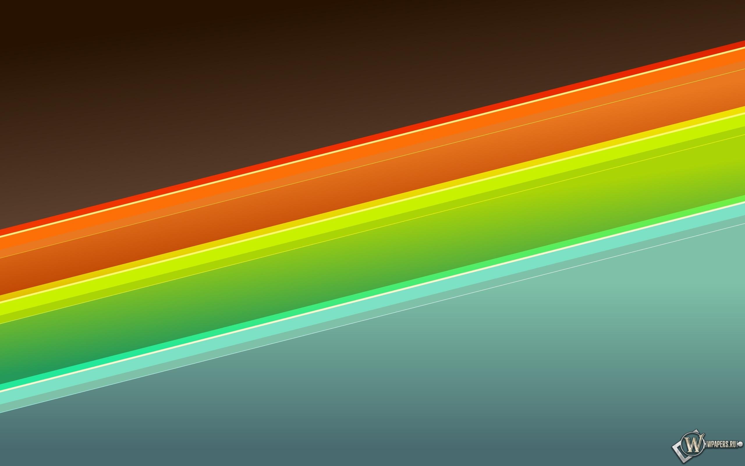 Неоновые линии 2560x1600