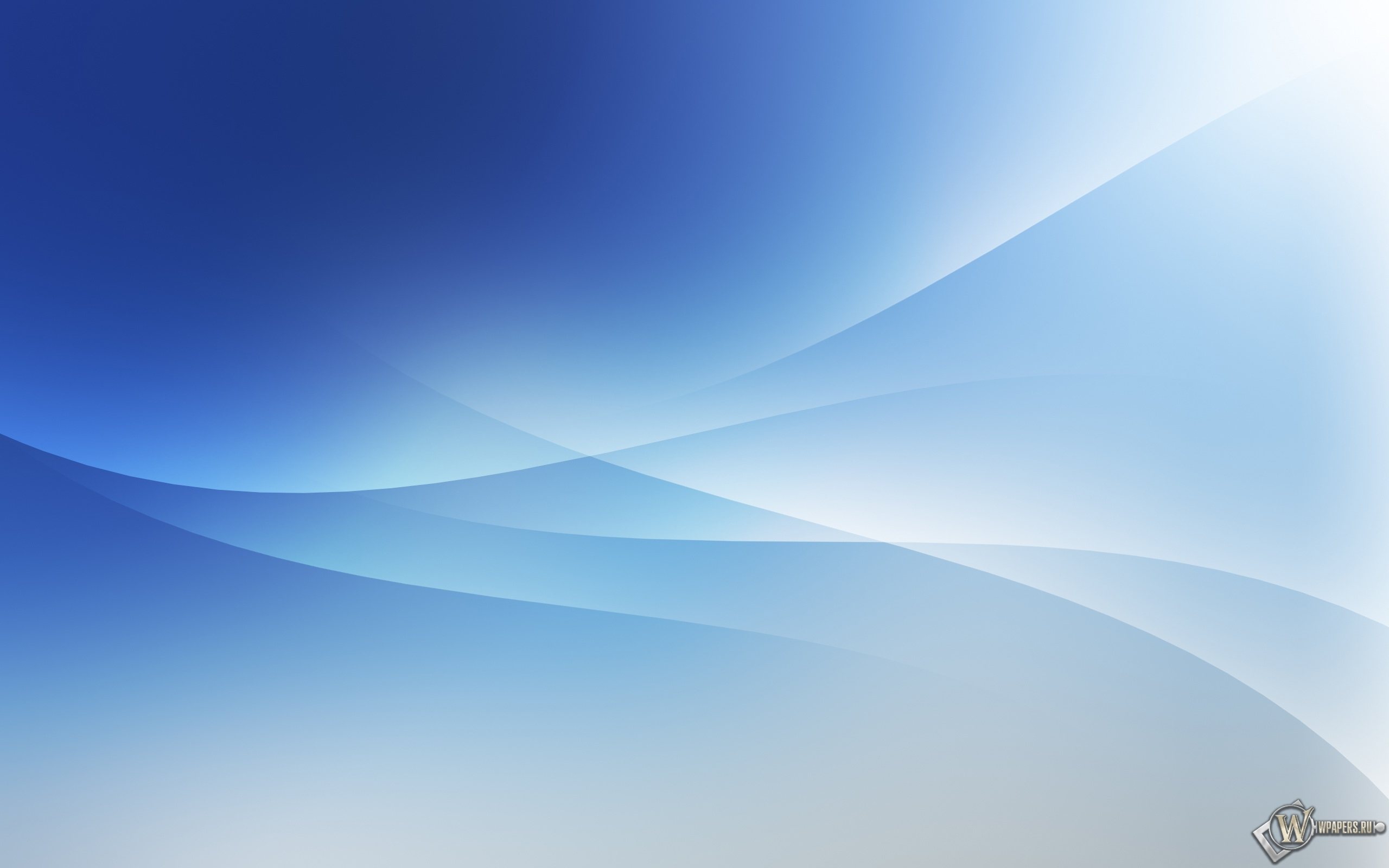 White and blue 2560x1600