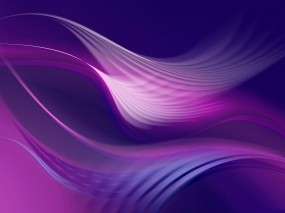 Обои Фиолетовые волны: Абстракция, Волны, Поток, Абстракции
