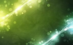 Обои Зелёные пузыри: Абстракция, Пузыри, Абстракции