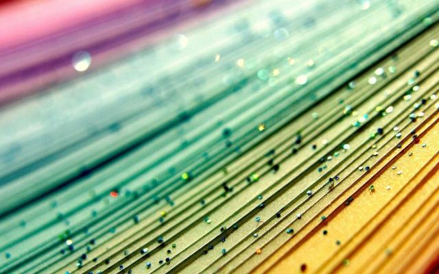 Разноцветные блёстки