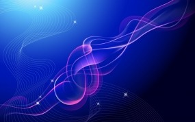 Обои Линии в векторе: Линии, Синий, Вектор, Абстракции