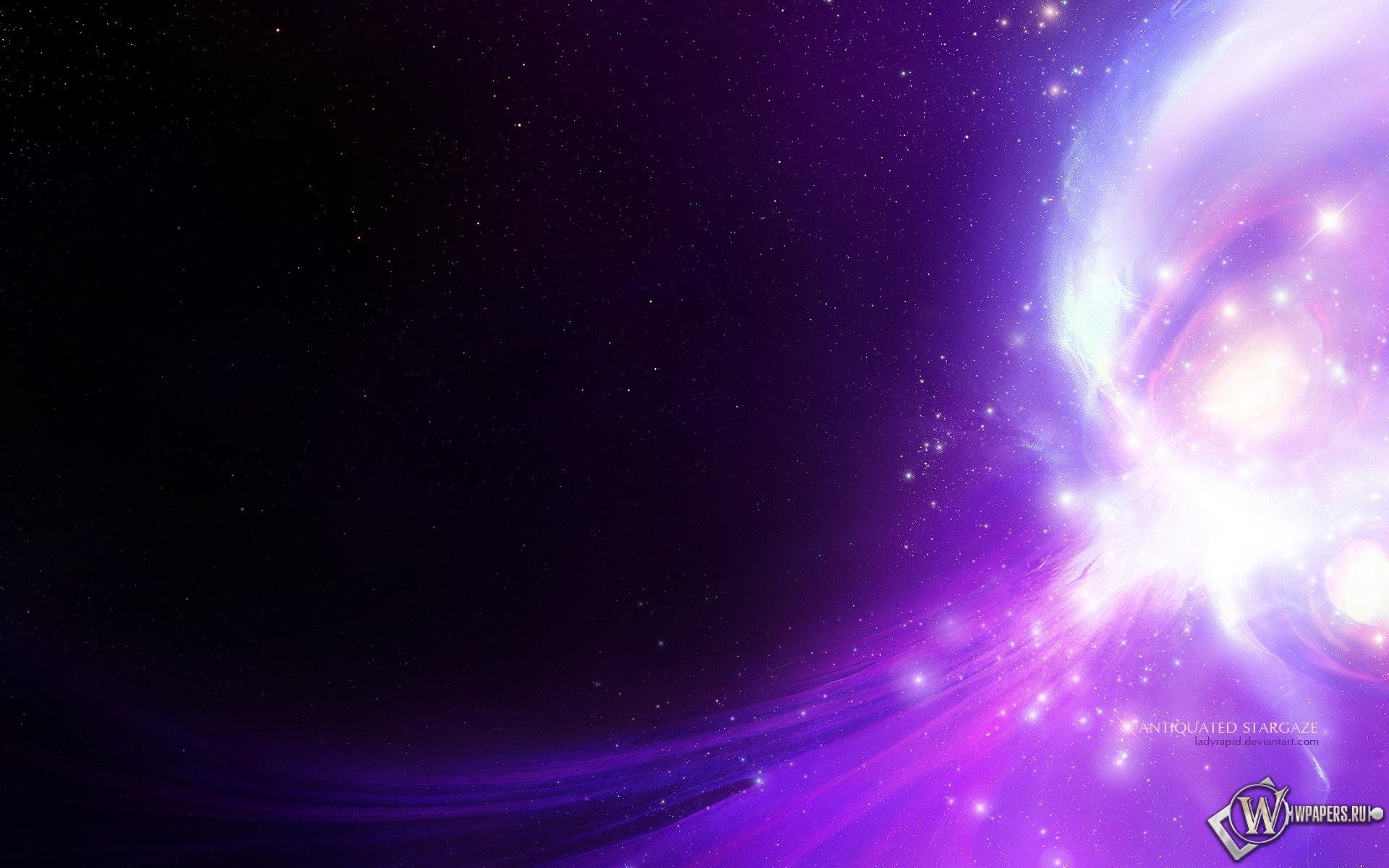 Фиолетовое свечение 1920x1200