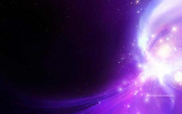 Фиолетовое свечение
