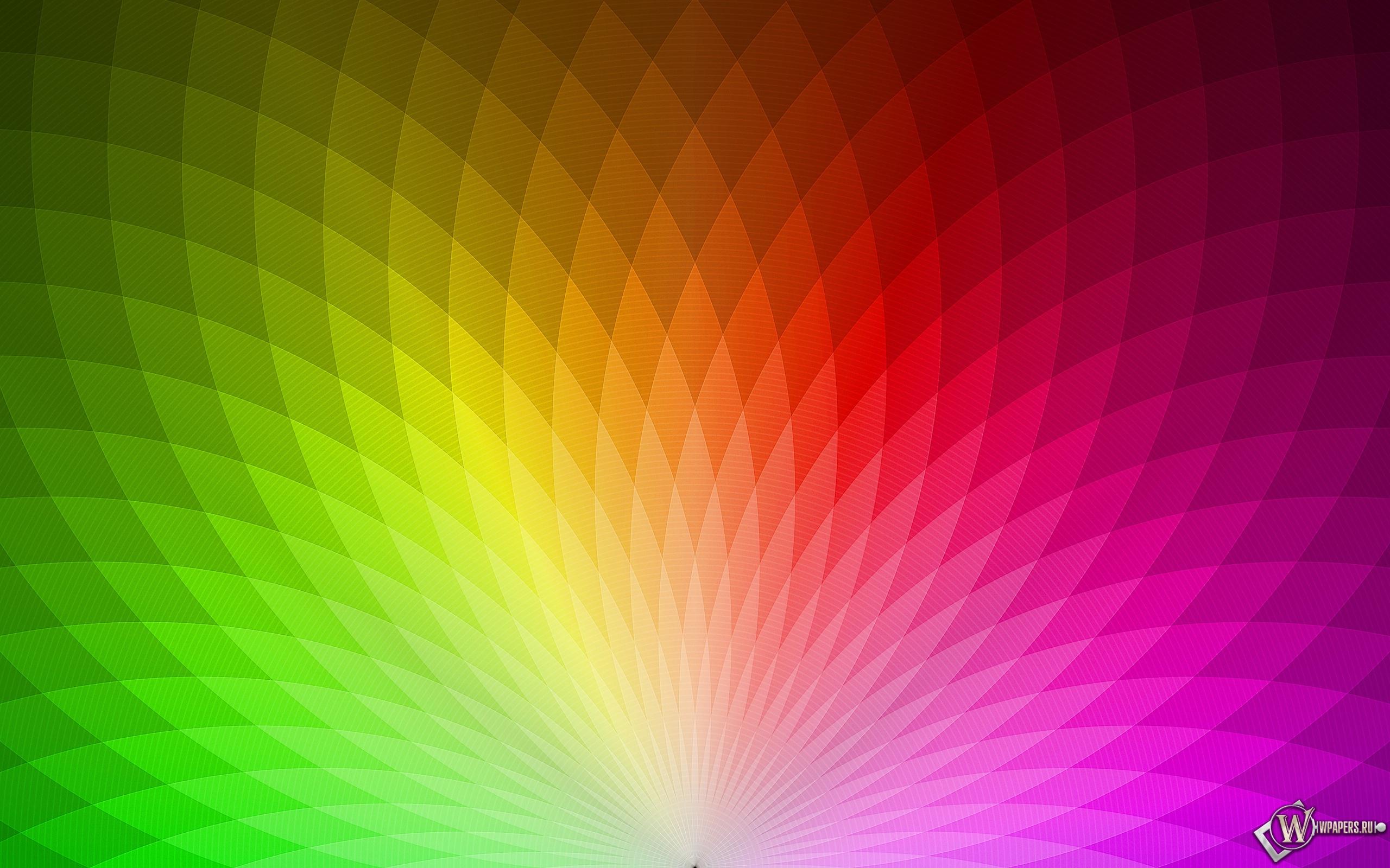 Радуга цвета 2560x1600