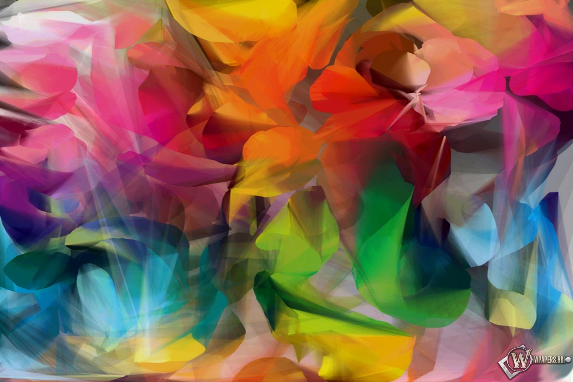 Разноцветные абстракции 1920x1280