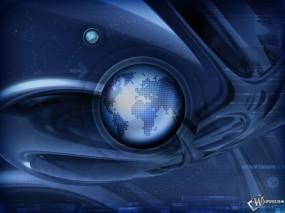 Обои 3D Абстракция: Земля, Планета, Абстракции
