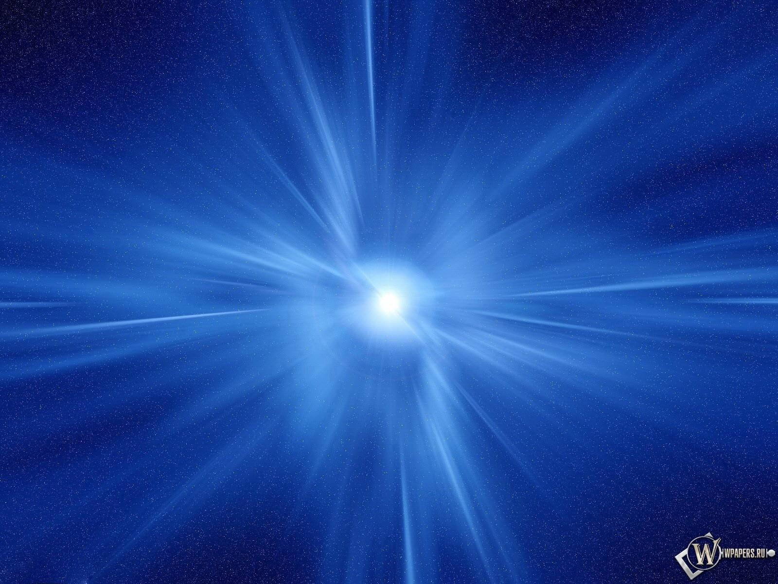 Синяя Абстракция 1600x1200