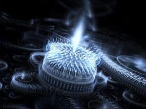 Обои 3D Сгусток энергии: Энергия, Пучок, Абстракции
