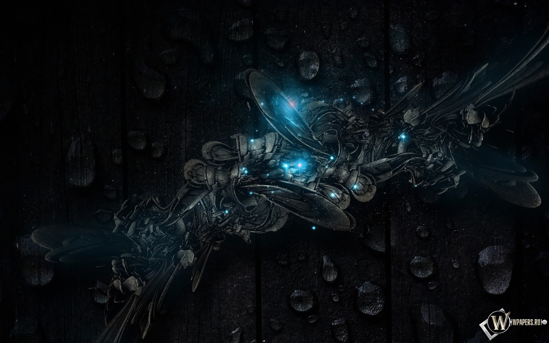 Темная абстракция 1440x900