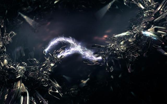 Абстракция электричества абстракция