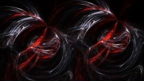 Обои Абстракция: Абстракция, Чёрный, Красный, Абстракции