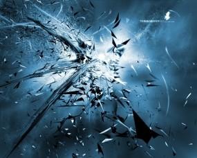Обои Абстракция взрыва: Свечение, Взрыв, Осколки, Абстракции