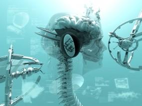 Обои Creative Labs: Робот, Креатив, Технологии, Рендеринг