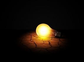 Обои Вечная Лампочка: Свет, Тьма, Лампочка, Засуха, Рендеринг