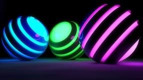 Обои Spheres: 3D графика, Шар, Сфера, Рендеринг