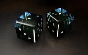 Обои Игральные кости: Кубики, Кости, Рендеринг