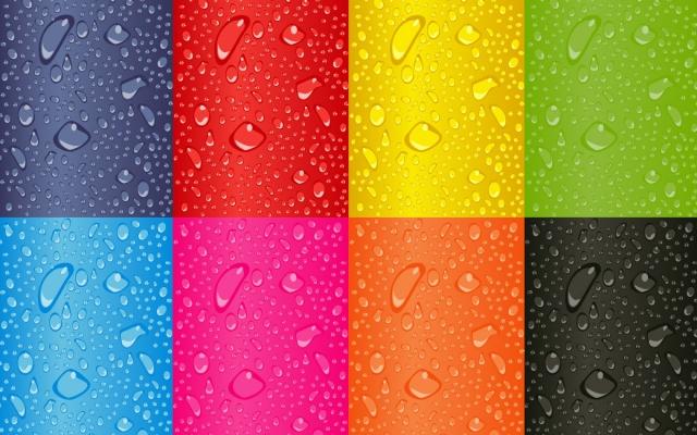 Радужные цвета