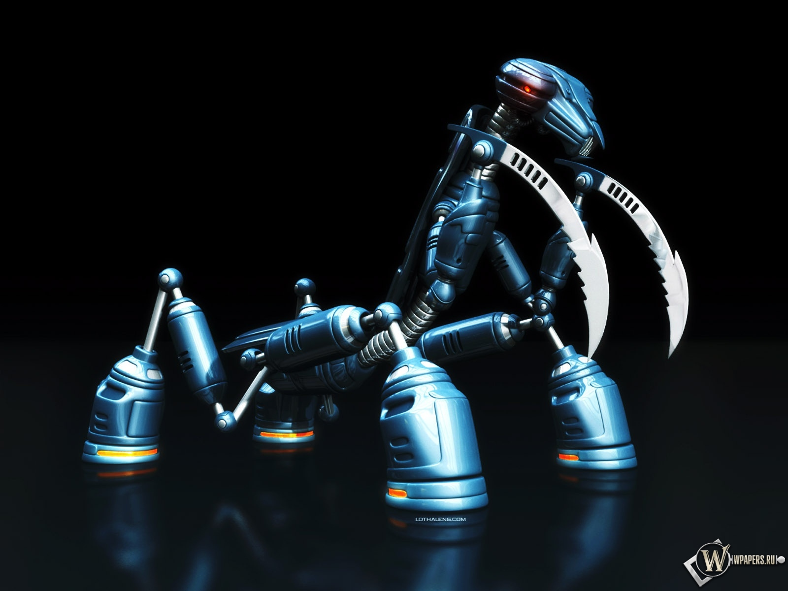 Робот-богомол 1600x1200