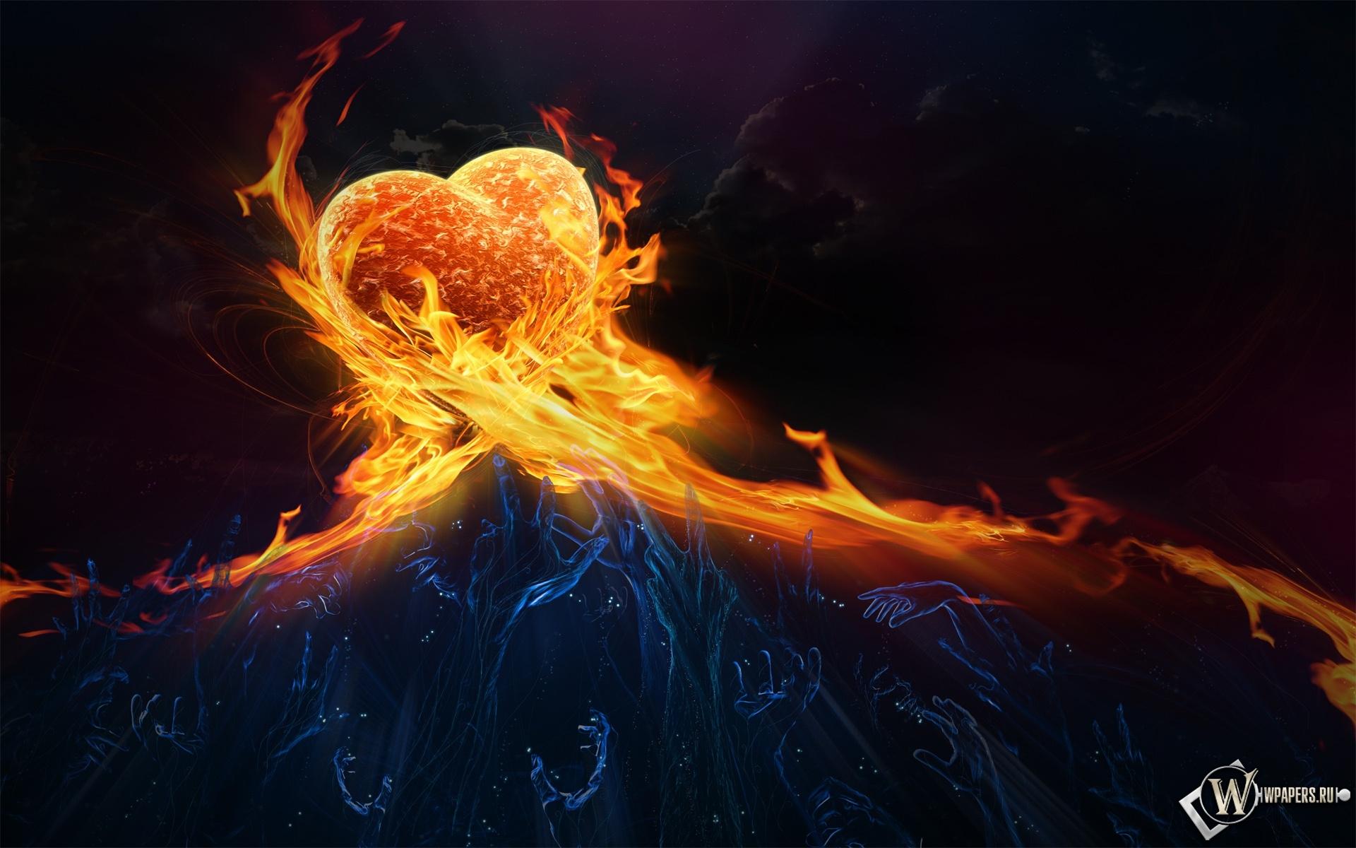 Сердце в огне 1920x1200