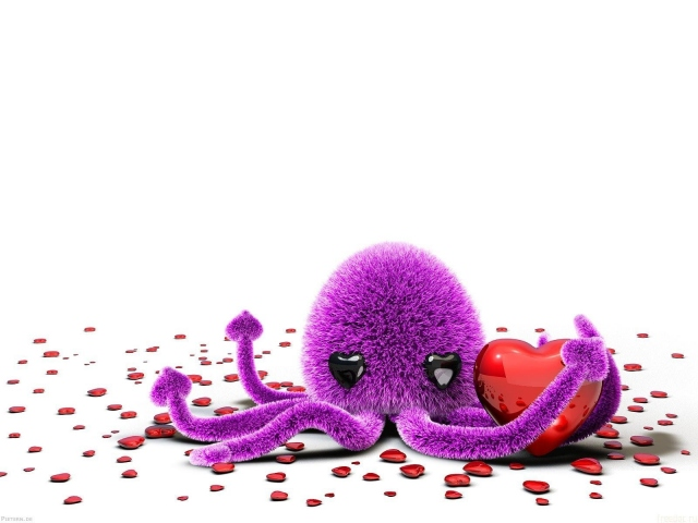 Влюблённый осьминог