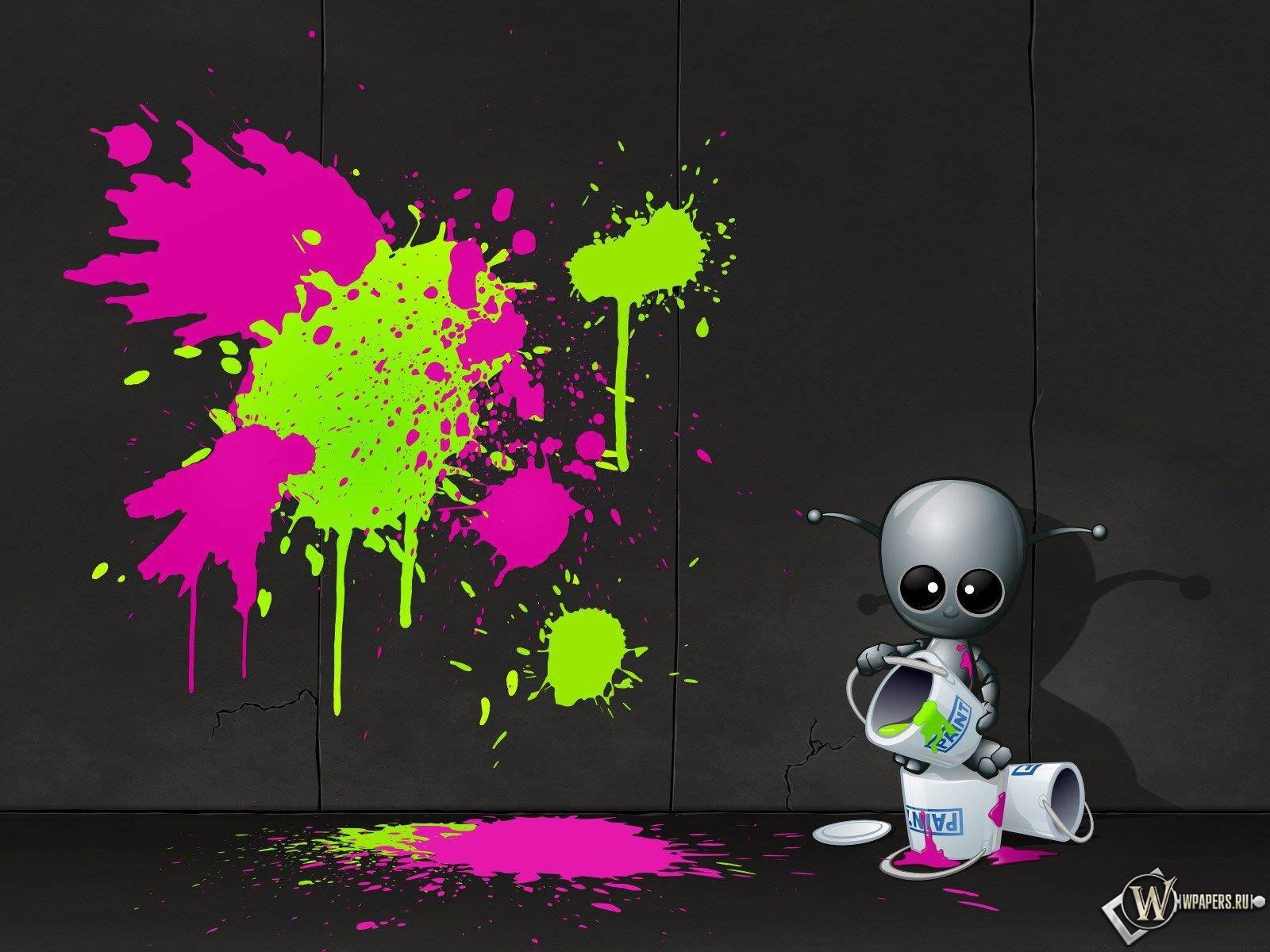 Robot Artist 1600x1200
