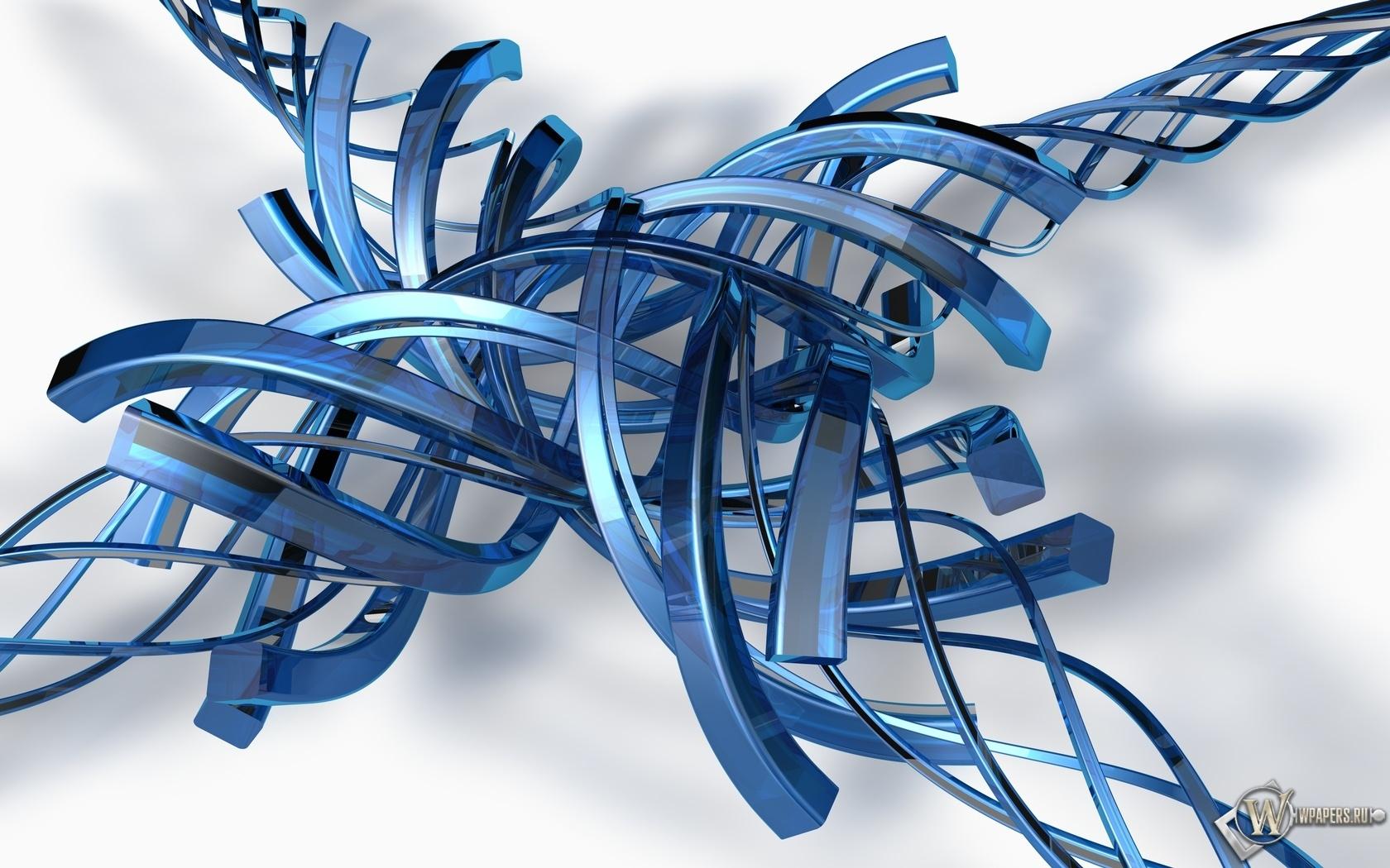 Спиральные завитки 1680x1050