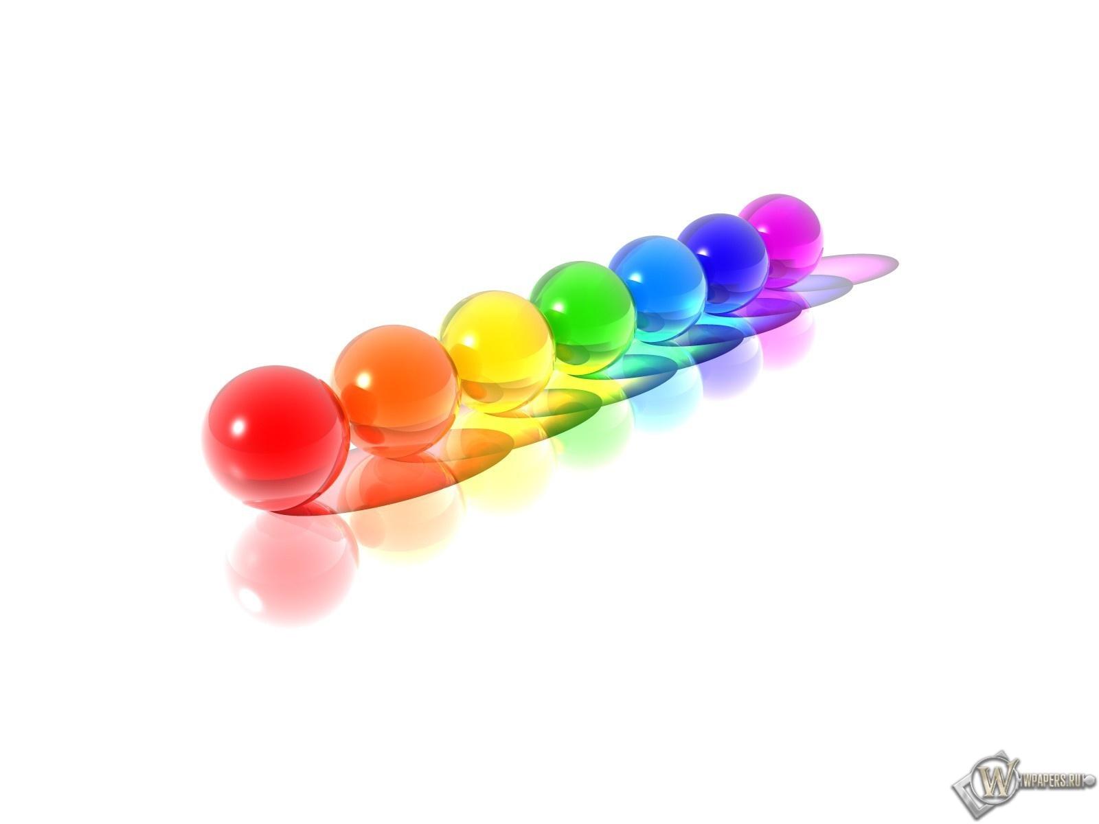Разноцветные шарики 1600x1200