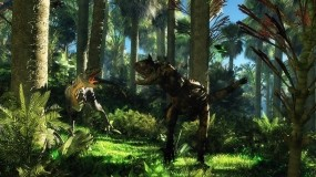 Обои Динозавры: Джунгли, Динозавр, Спор, Рендеринг