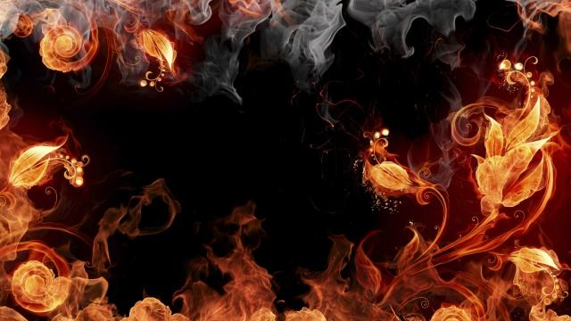 Огненные цветы