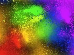 Обои Разноцветный цвет: Цвета, Спрей, Рендеринг
