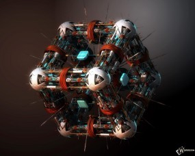 Обои Нано куб: Nano Surgeon, Куб, Рендеринг