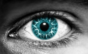Обои Глаз: Глаз, Зрачок, Ресницы, Рендеринг