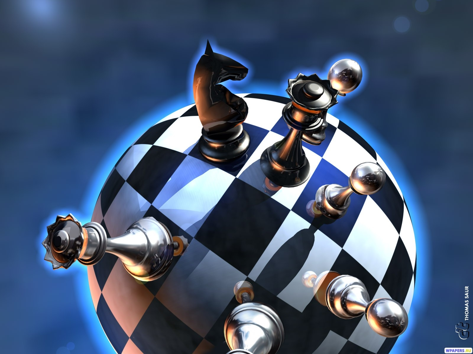Шахматы 1600x1200