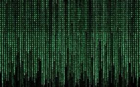 Обои Матрица: Цифры, Матрица, Буквы, Рендеринг