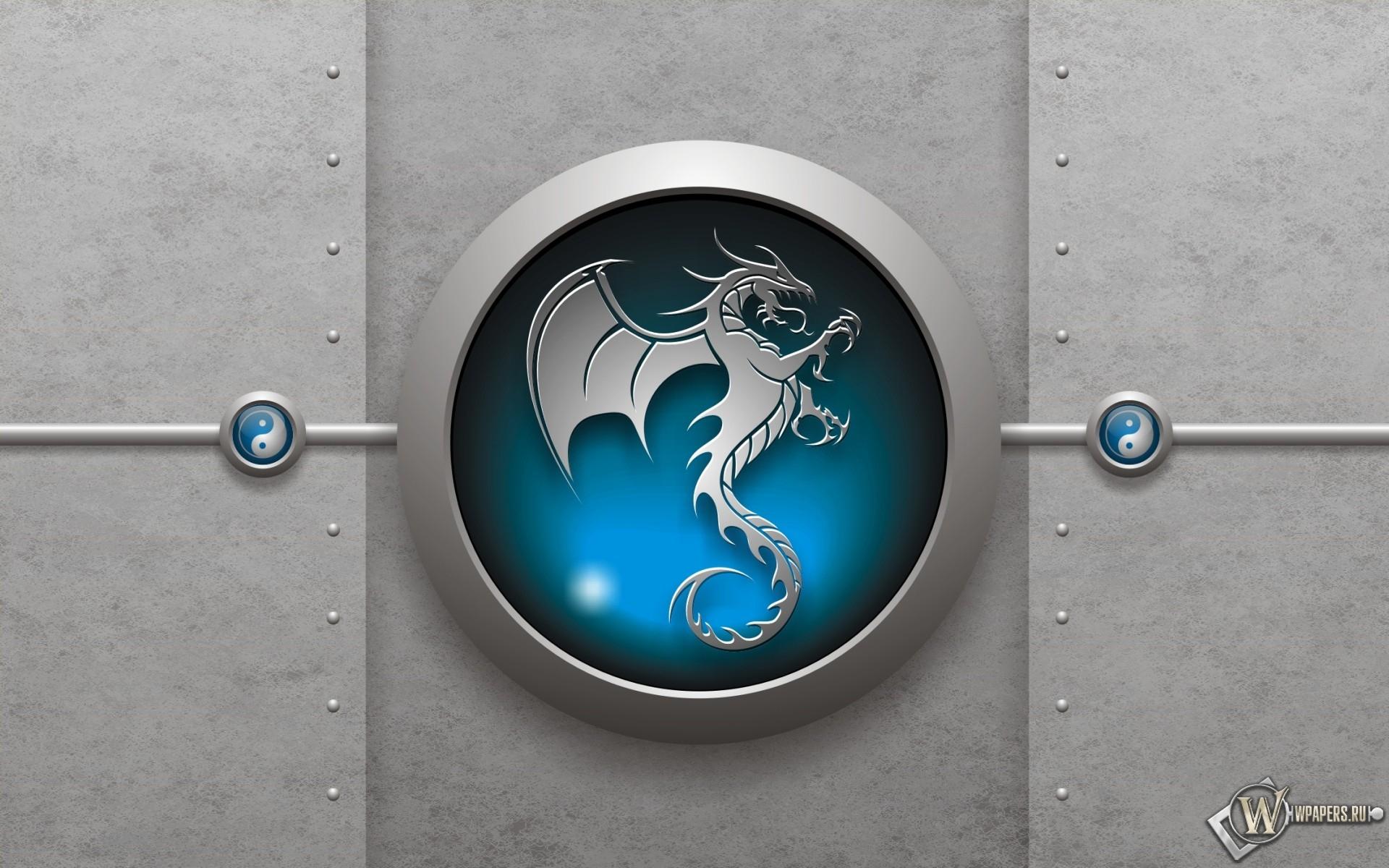 Знак дракона 1920x1200