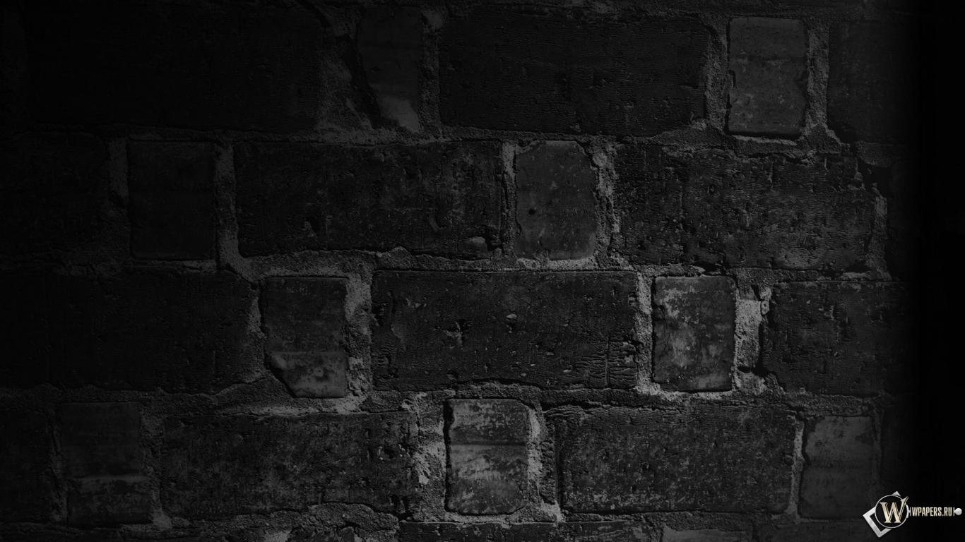 Обои стена стена темнота кирпичи