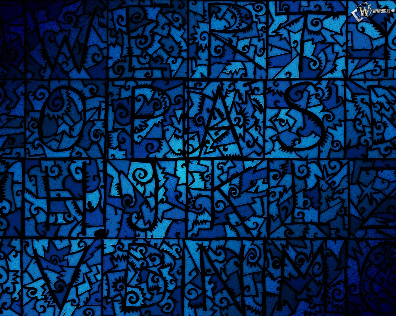 Картинки синие цветочки - 1257