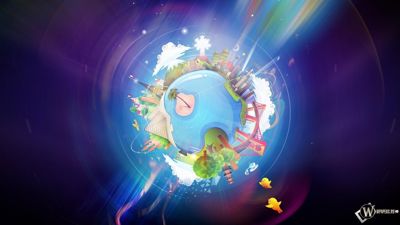 Отчет нового года на планете