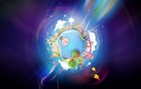 Обои Позитивная Земля: Планета, Дом, Мир, Разное