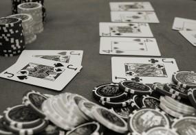 Обои Покер: Серый, Карты, Покер, Фишки, Разное