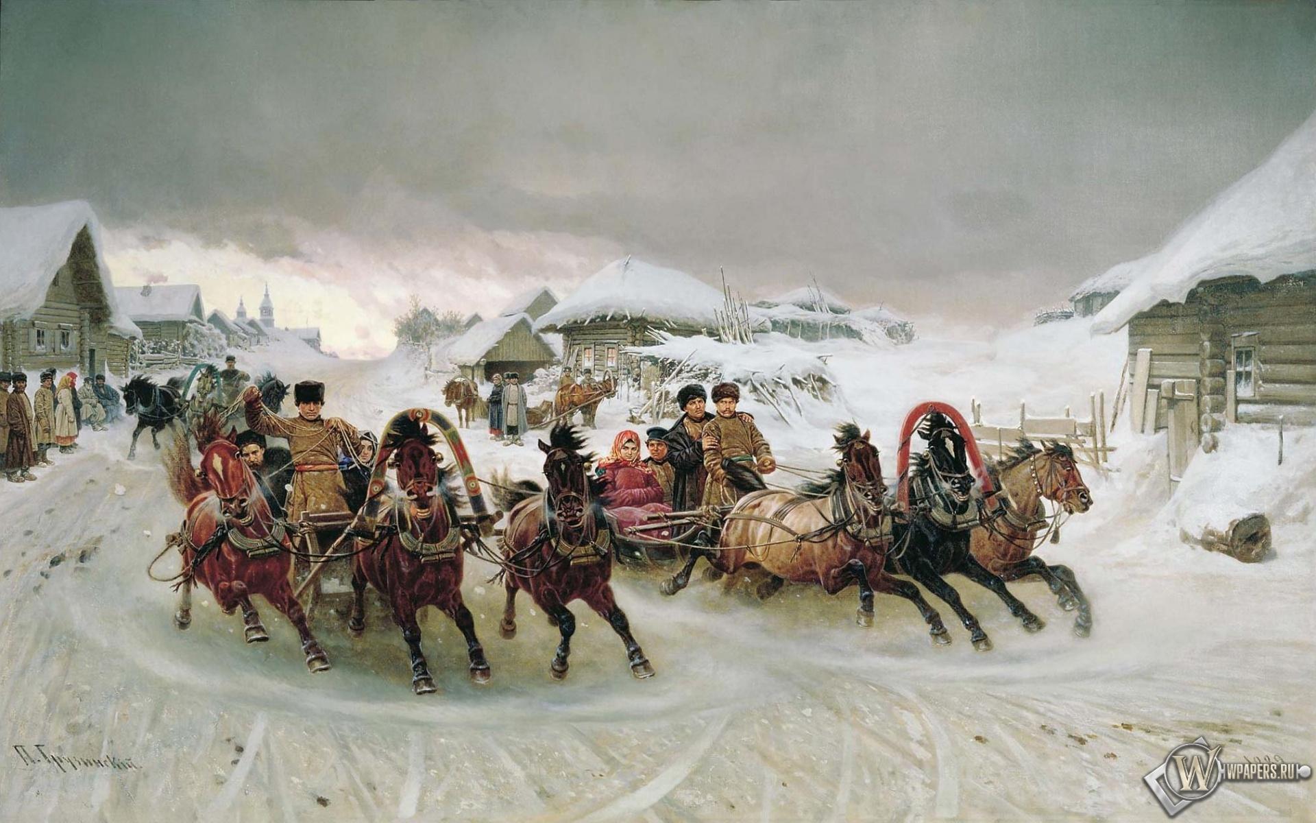 Картинки на рабочий стол 1920 1200 зима