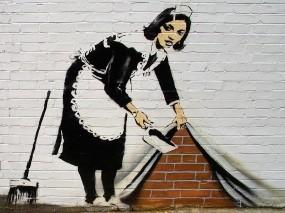 Граффити Бэнкси