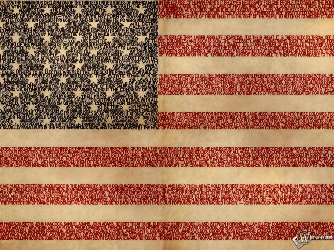 Обои флаг сша флаг сша 1152x864